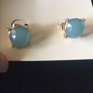 Jewelry - Colored Gem like Studs in Nickel Free Setting-NWOT